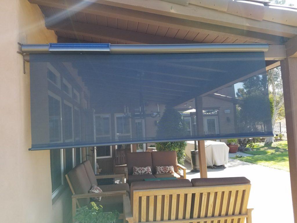 Retractable Solar Shade